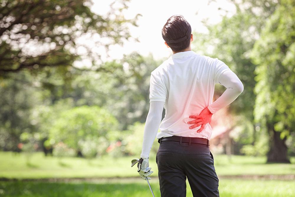 Golfmassage på kroppshälsan